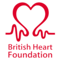 We donate to the British Heart Foundation