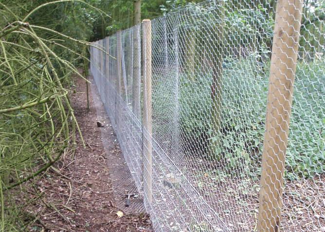 Pest Fencing Installed